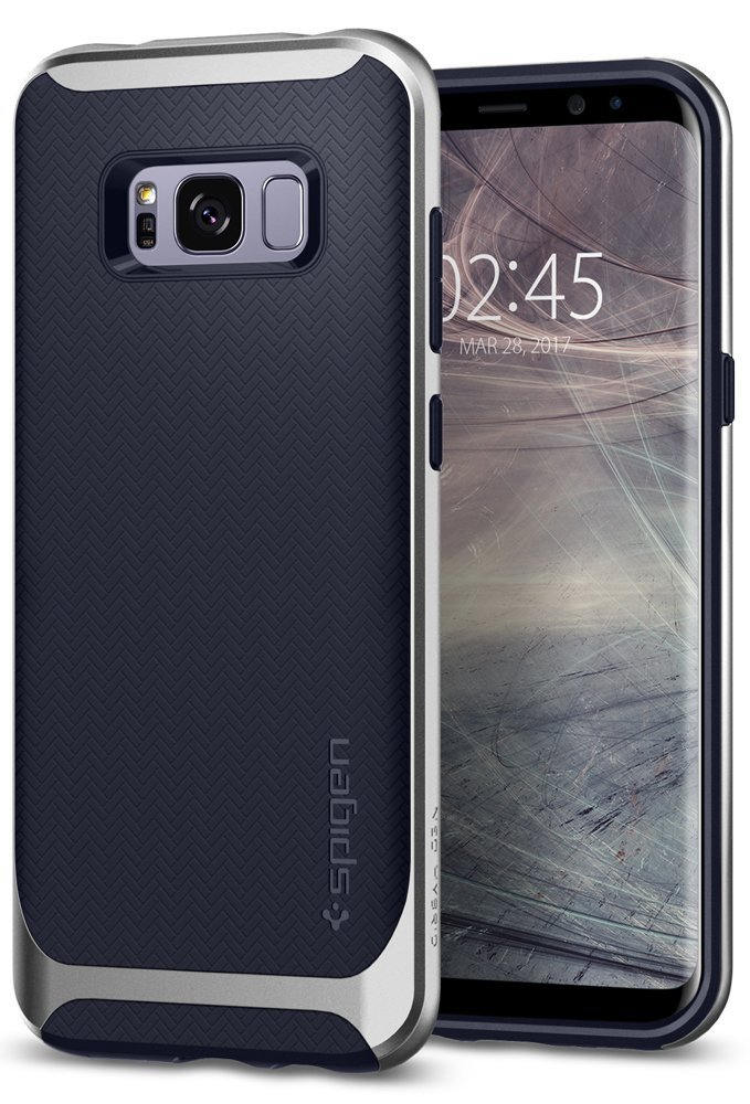Spigen Θήκη Neo Hybrid Samsung Galaxy S8 - Silver Arctic (565CS21600)