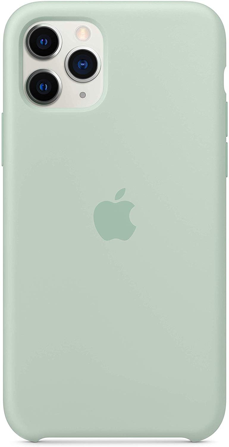 Official Apple Silicone Cover - Θήκη Σιλικόνης iPhone 11 Pro - Beryl (MXM72ZM/A)