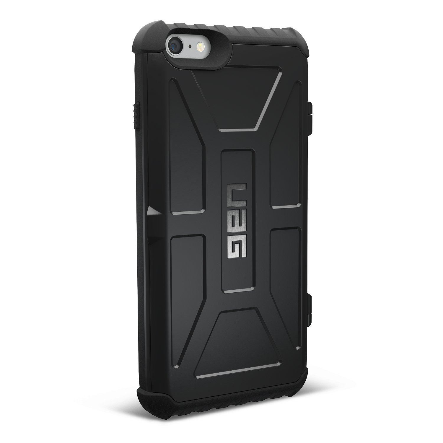 UAG Trooper Θήκη με Θέση για Κάρτες iPhone 6S Plus / 6 Plus - Black (IPH6/6SPL-N-BLK)