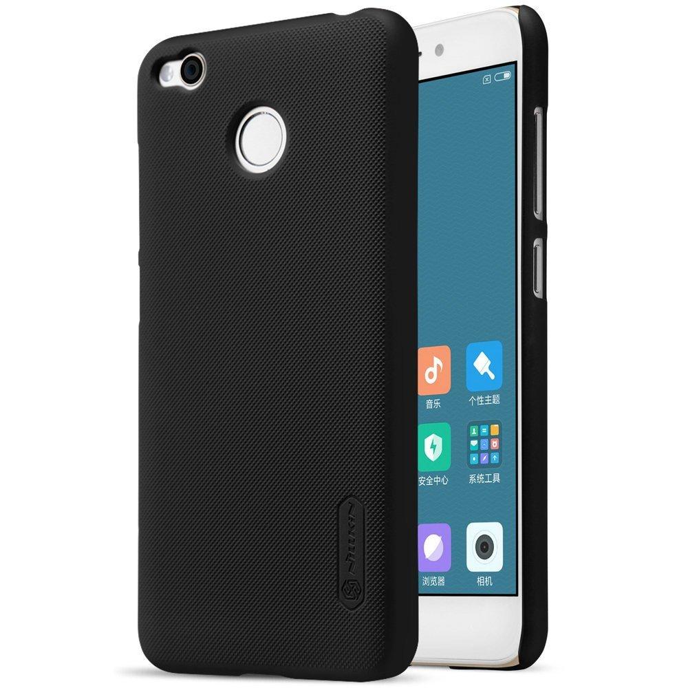Nillkin Θήκη Super Frosted Shield Xiaomi Redmi 4 / 4X & Screen Protector - Black (12299)