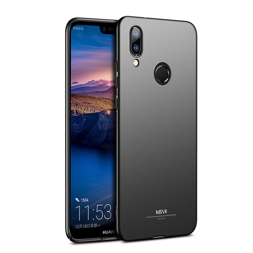 MSVII Super Slim Σκληρή Θήκη PC Huawei P20 Lite - Black (L1-05)
