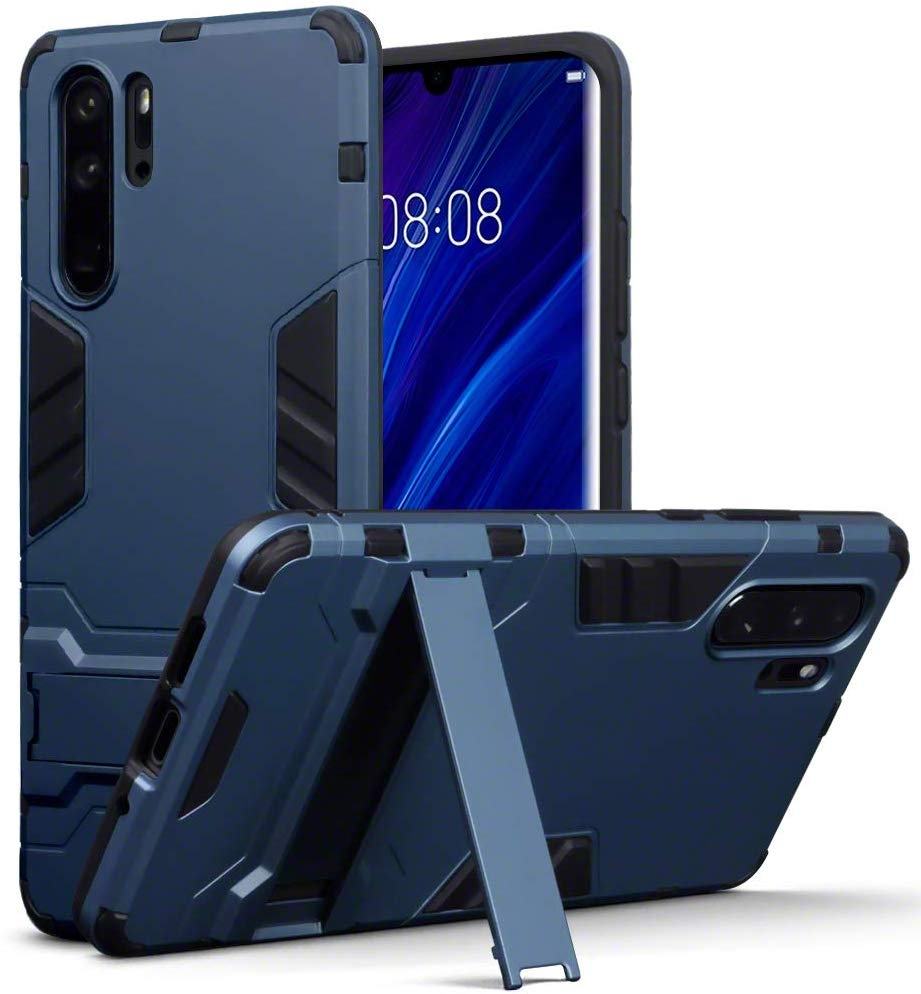 Terrapin Ανθεκτική Dual Layer Θήκη Huawei P30 Pro - Blue (131-083-109)