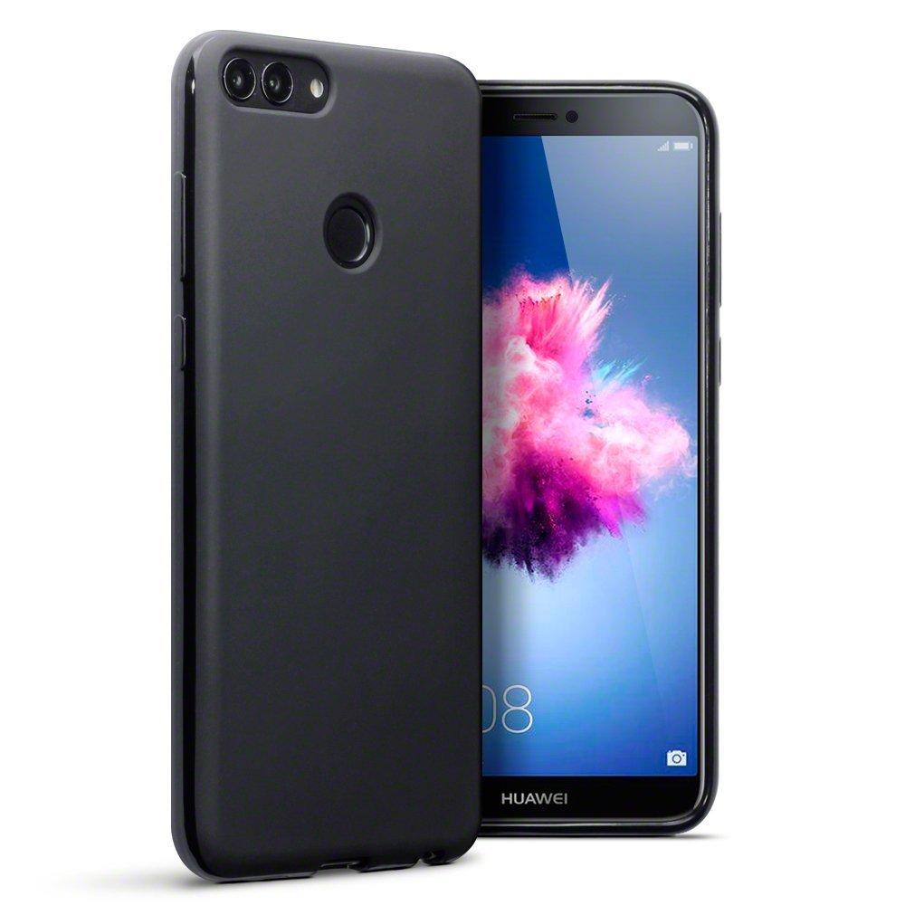 Terrapin Θήκη Σιλικόνης Huawei P Smart 2018 - Black Matte (118-083-170)
