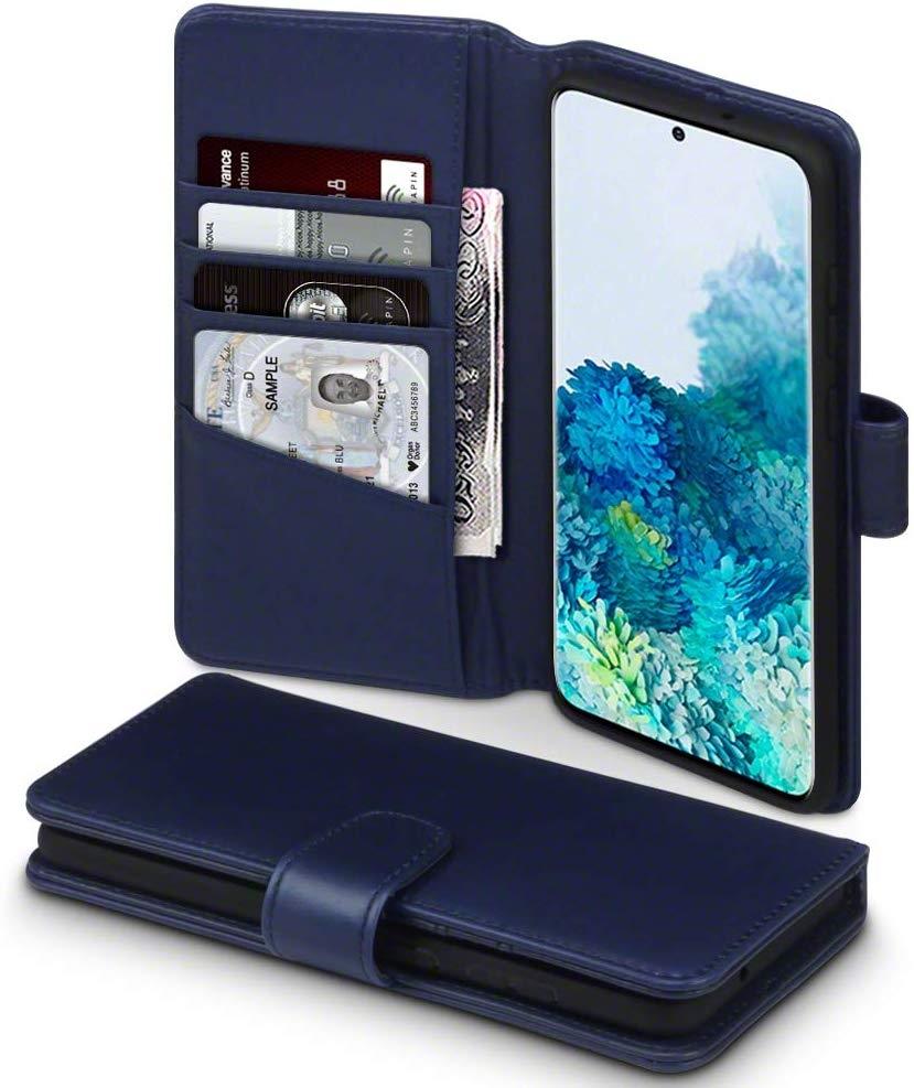 Terrapin Δερμάτινη Θήκη - Πορτοφόλι Samsung Galaxy S20 Plus - Blue (117-002a-239)