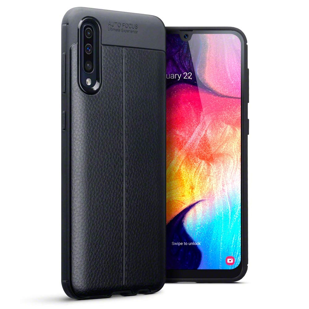 Terrapin Θήκη Σιλικόνης Samsung Galaxy A50 - Black (118-002-761)