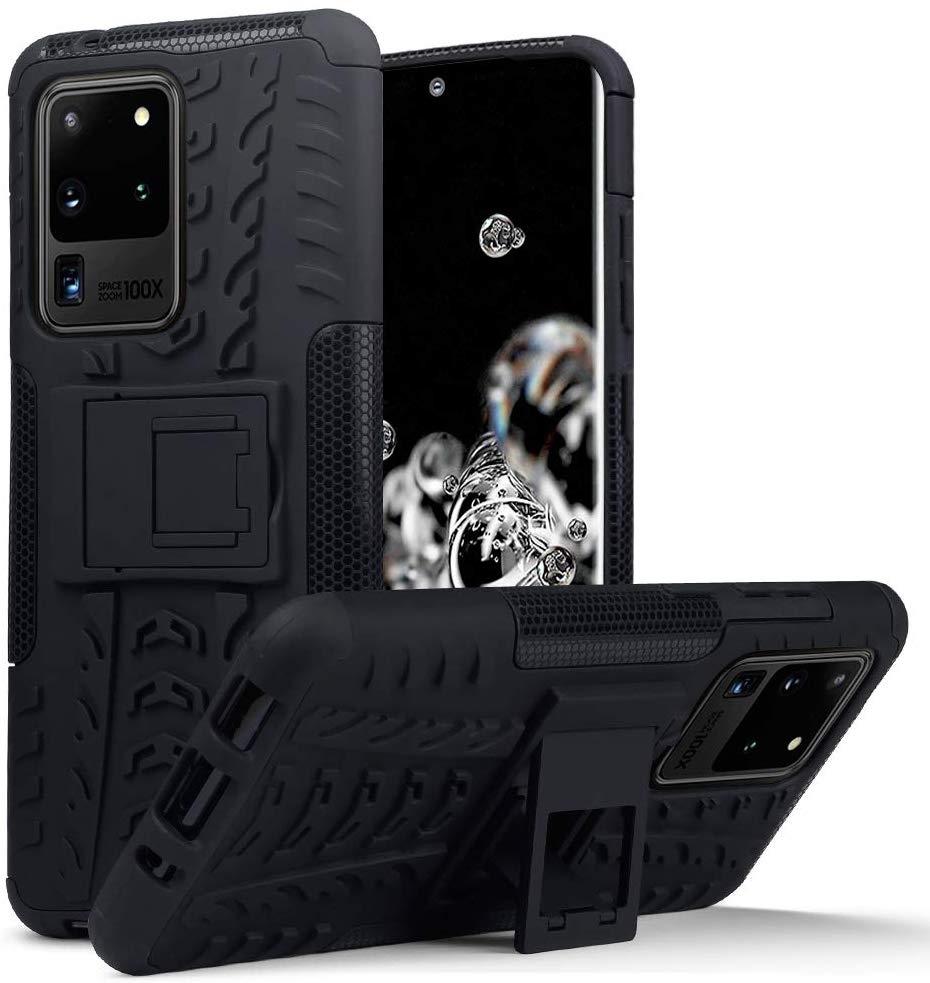 Terrapin Ανθεκτική Θήκη Dual Layer Samsung Galaxy S20 Ultra - Black (131-002-229)