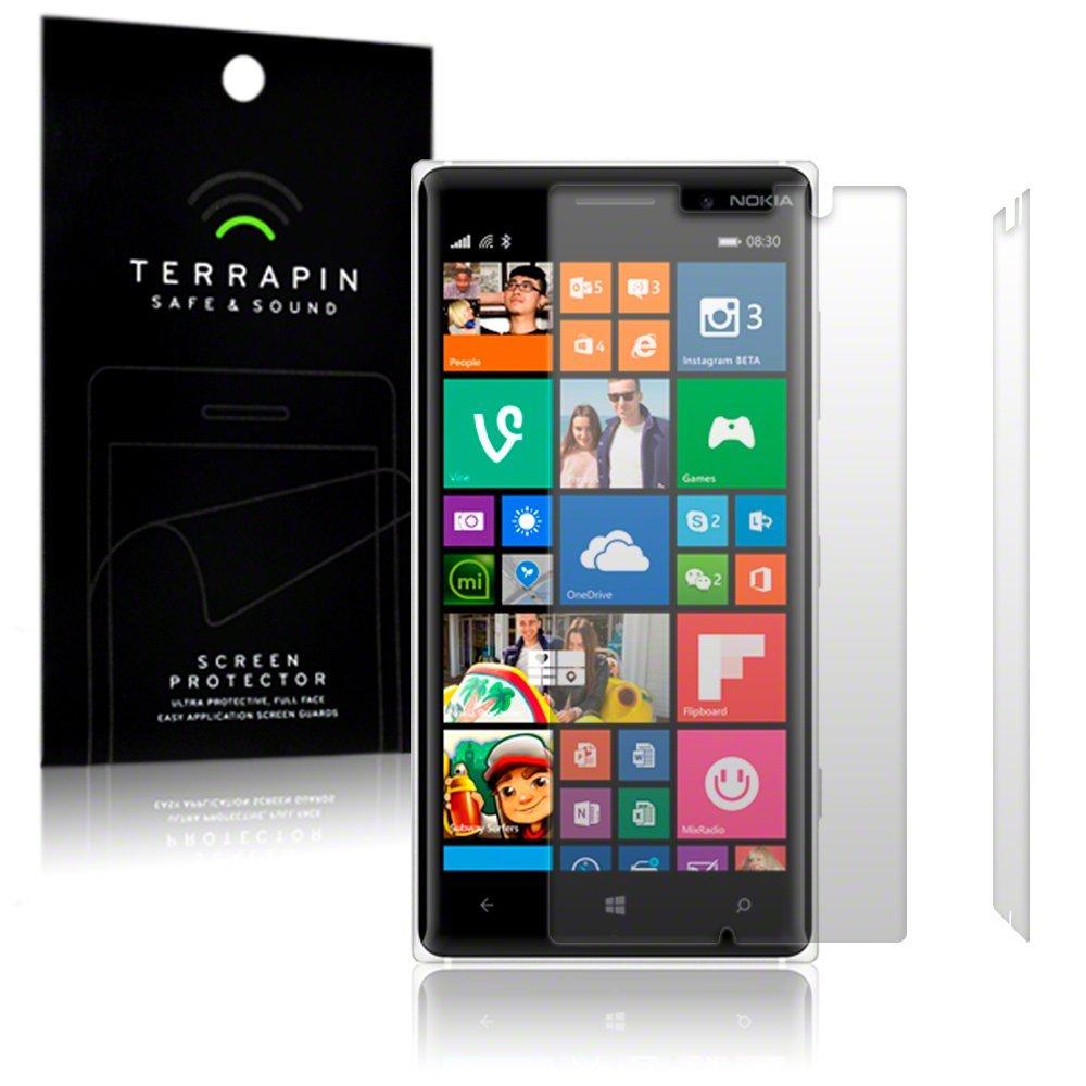 Μεμβράνη Προστασίας Οθόνης Nokia Lumia 830 by Terrapin - 2 Τεμάχια (006-001-141)