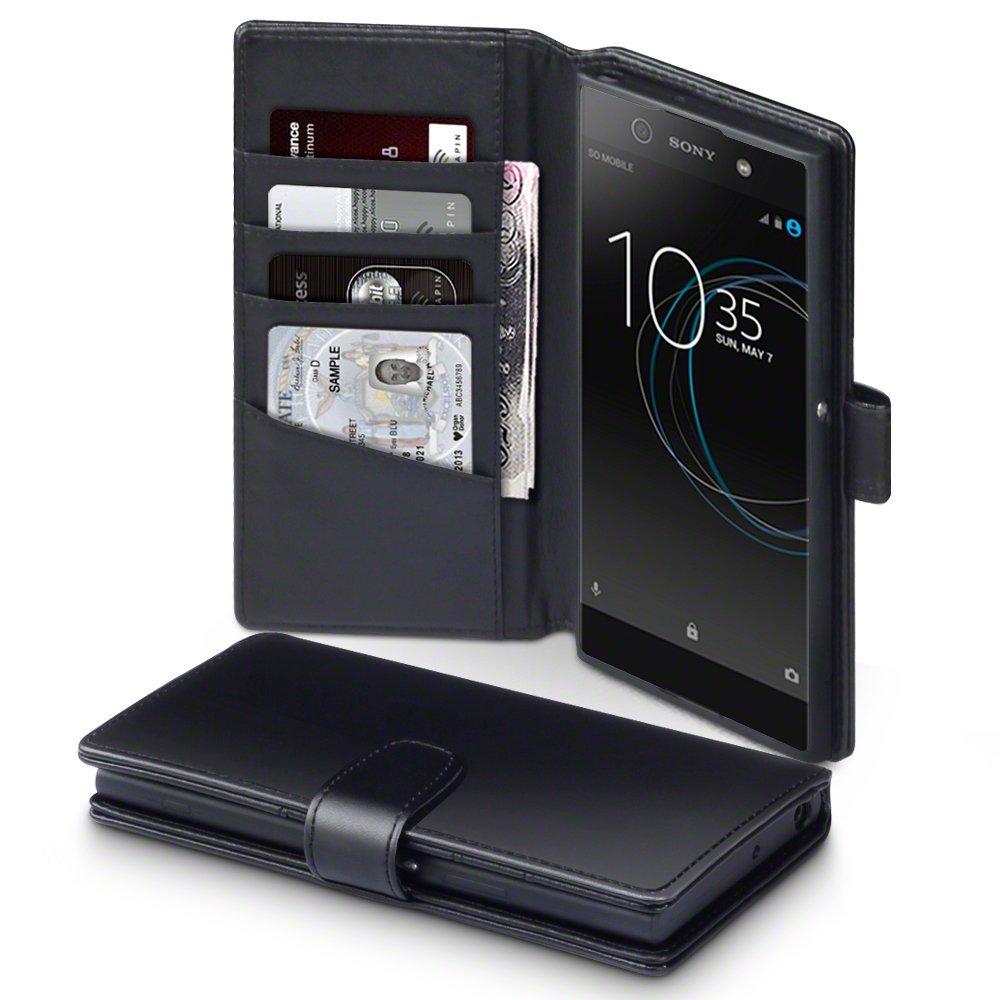 Terrapin Δερμάτινη Θήκη Πορτοφόλι Sony Xperia XA1 Ultra - Black  (117-005-495)