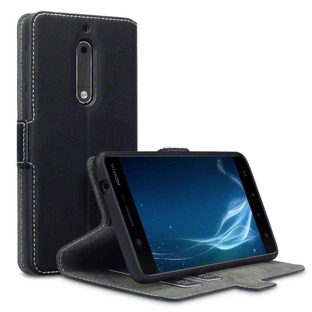 Terrapin Θήκη - Πορτοφόλι Nokia 5 - Black (117-001-252)
