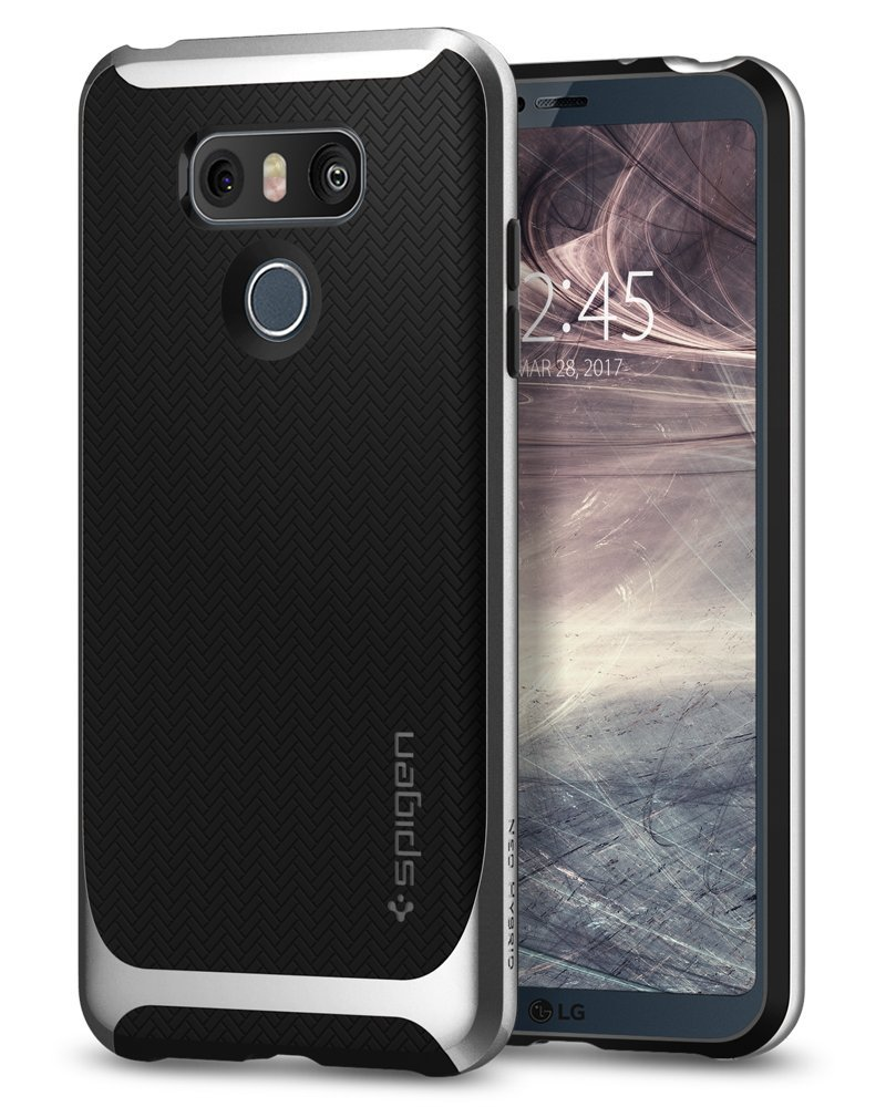 Spigen Θήκη Neo Hybrid LG G6 - Silver Arctic (A21CS21237)