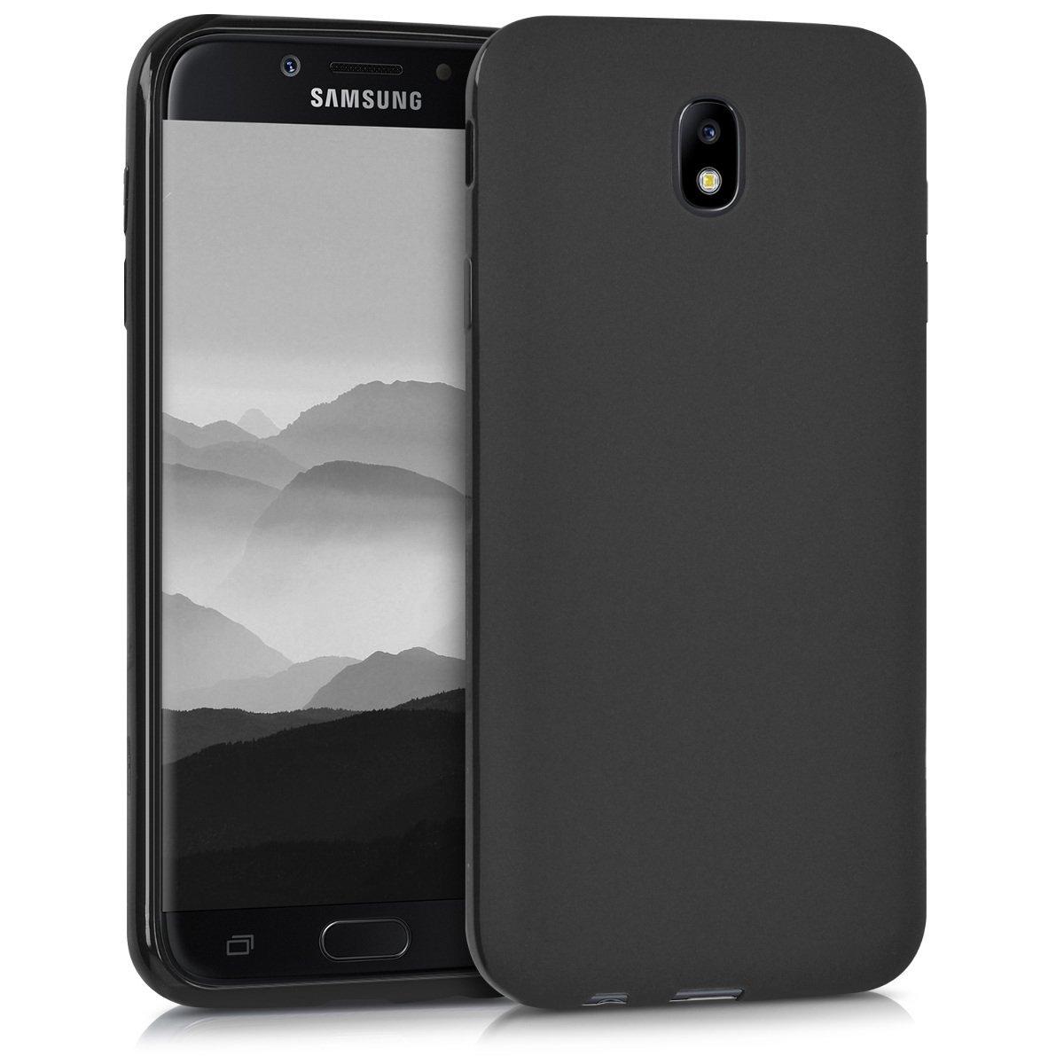 KW Θήκη Σιλικόνης Samsung Galaxy J7 2017 (Version J730F) - Black Matte (42287.47)