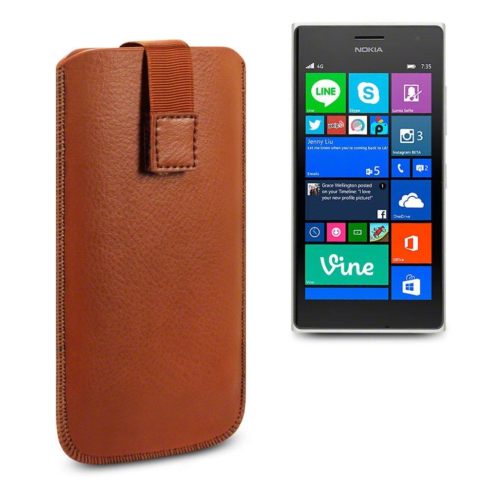 Δερμάτινη Θήκη Nokia Lumia 730/735 by Terrapin (009-002-088-735)