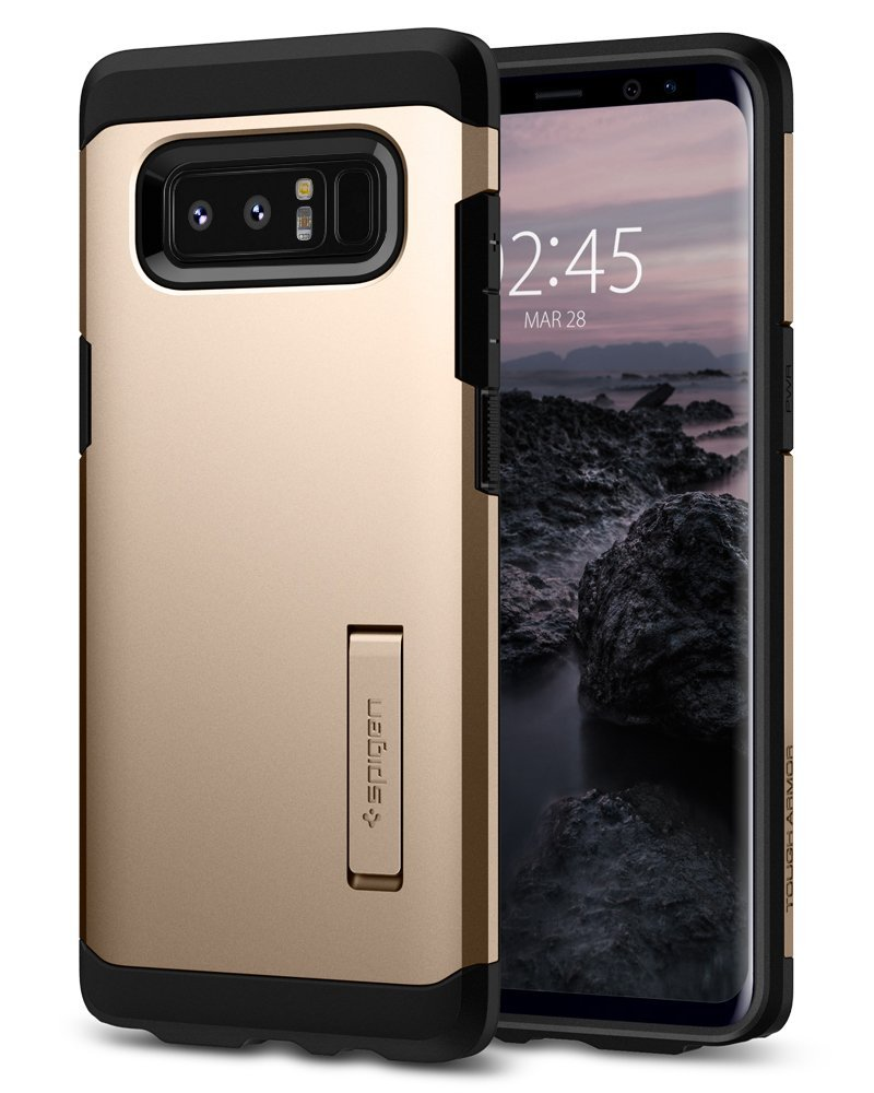 Spigen Θήκη Tough Armor Samsung Galaxy Note 8 - Maple Gold (587CS22082)