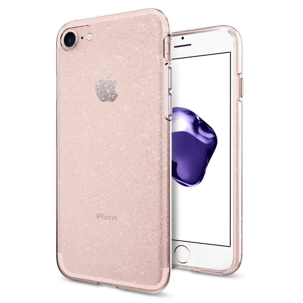 Spigen Θήκη TPU Liquid Crystal Glitter iPhone 8 / 7 (042CS21419)
