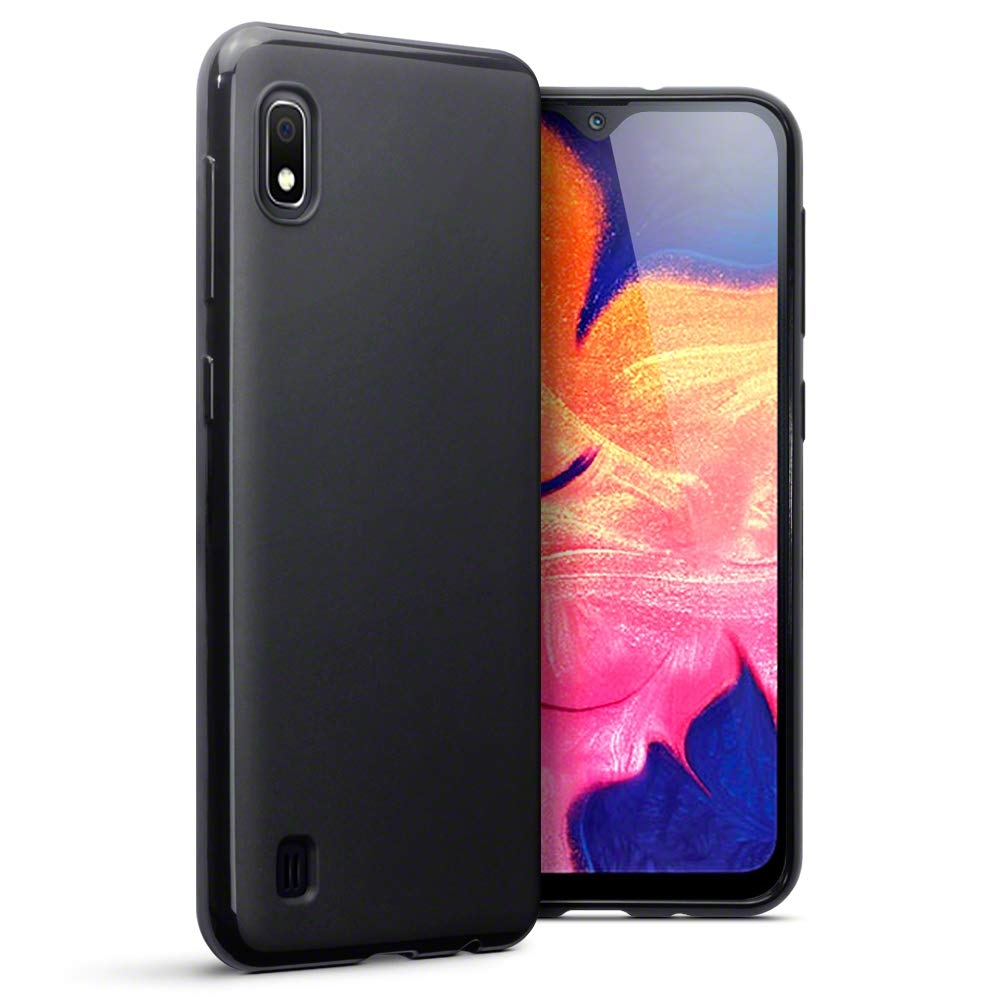 Terrapin Θήκη Σιλικόνης Samsung Galaxy A10 - Solid Black Matte Finish (118-002-748 )
