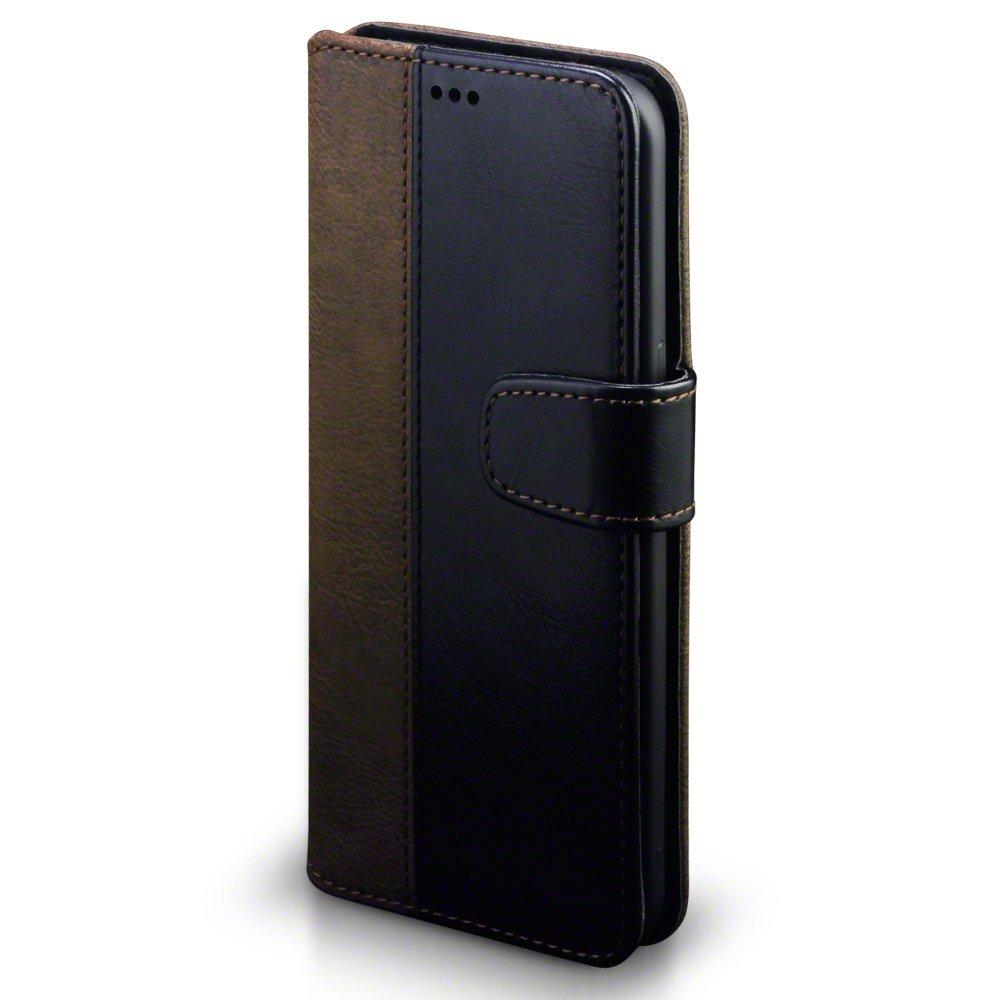 Terrapin Θήκη - Πορτοφόλι Samsung Galaxy S8 Plus - Black/Brown (117-002-962)