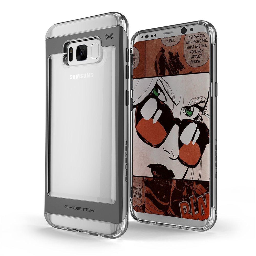 Ghostek Θήκη Cloak 2 Samsung Galaxy S8 + Screen Protector - Clear/Black (GHOCAS630)
