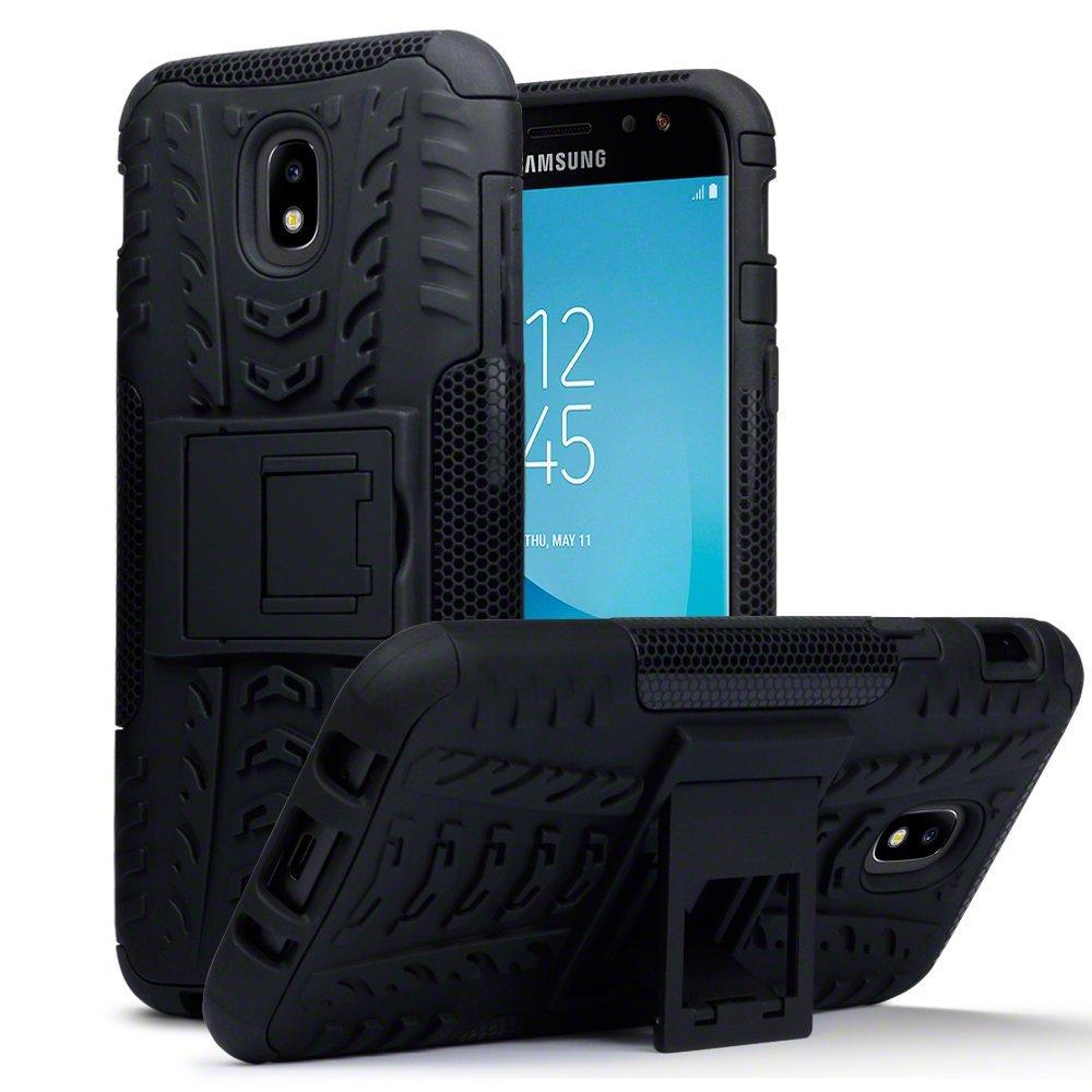 Terrapin Ανθεκτική Θήκη με Stand Samsung Galaxy J5 2017 (Version J530F)  - Black (131-002-058)