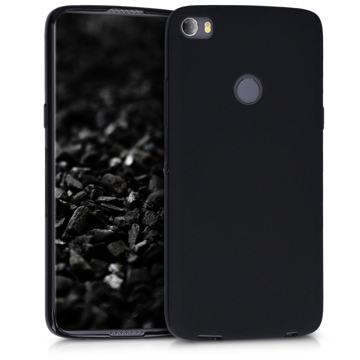 KW Θήκη Σιλικόνης Alcatel Idol 5s - Black Matte (43647.47) θήκες κινητών