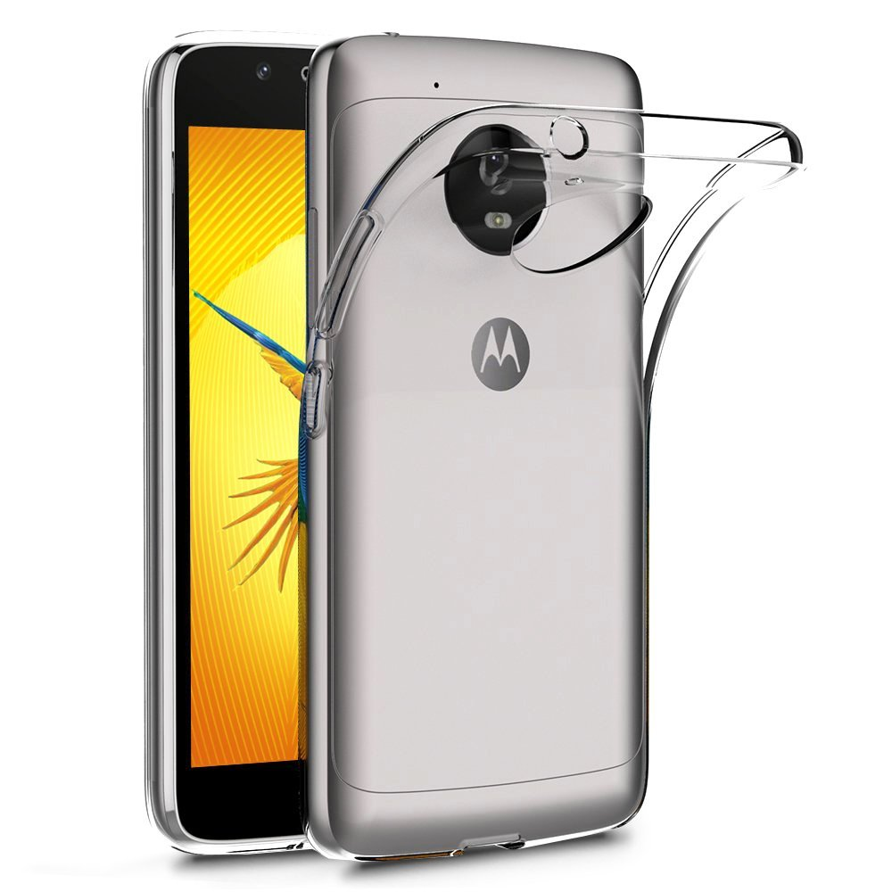 Terrapin Διάφανη Θήκη Σιλικόνης Motorola Moto G5 - Clear (118-003-030)