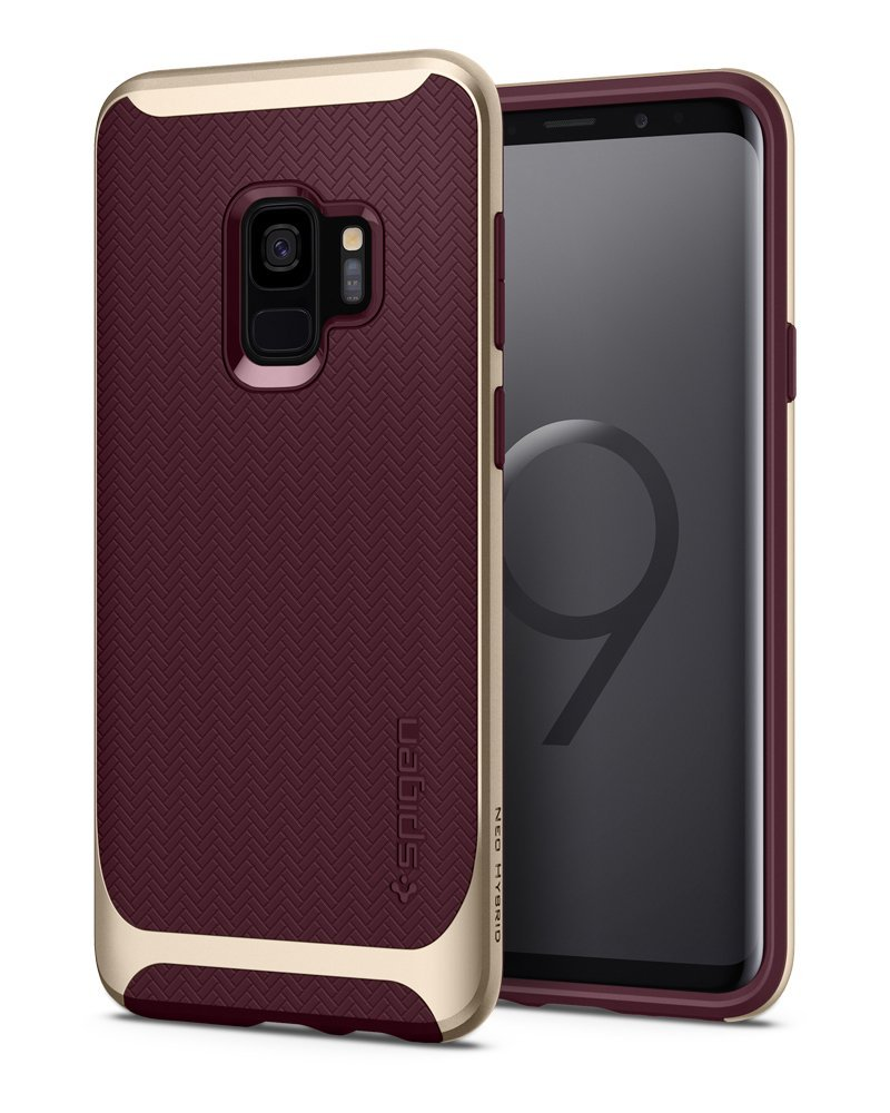Spigen Θήκη Neo Hybrid Samsung Galaxy S9 - Burgundy (592CS22857)
