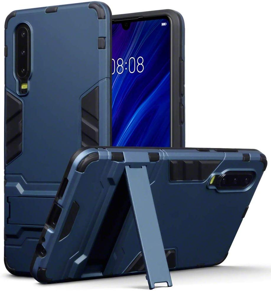 Terrapin Ανθεκτική Dual Layer Θήκη Huawei P30 - Blue (131-083-106)
