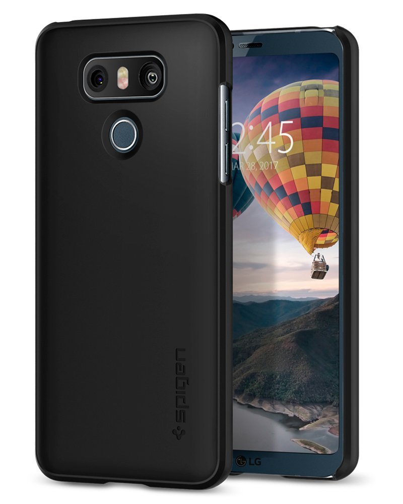 Spigen Θήκη Thin Fit LG G6 - Black (A21CS21231) θήκες κινητών