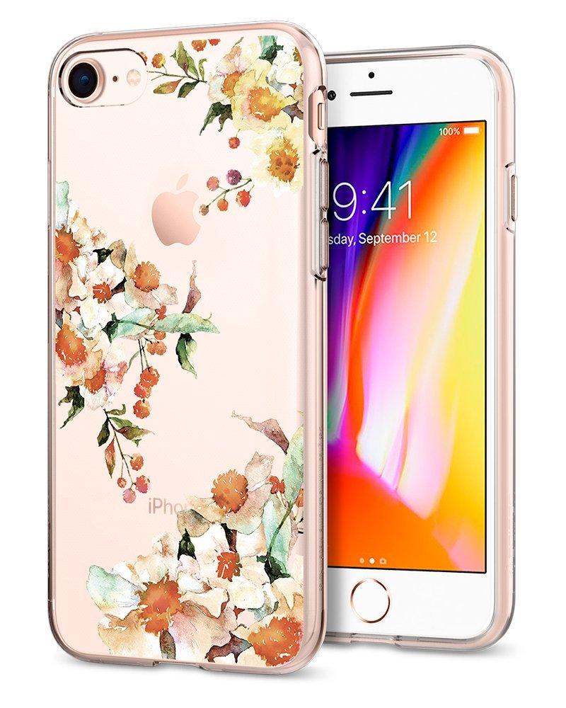 Spigen Θήκη Liquid Crystal iPhone 8 / 7 - Aquarelle Primrose (054CS22783)