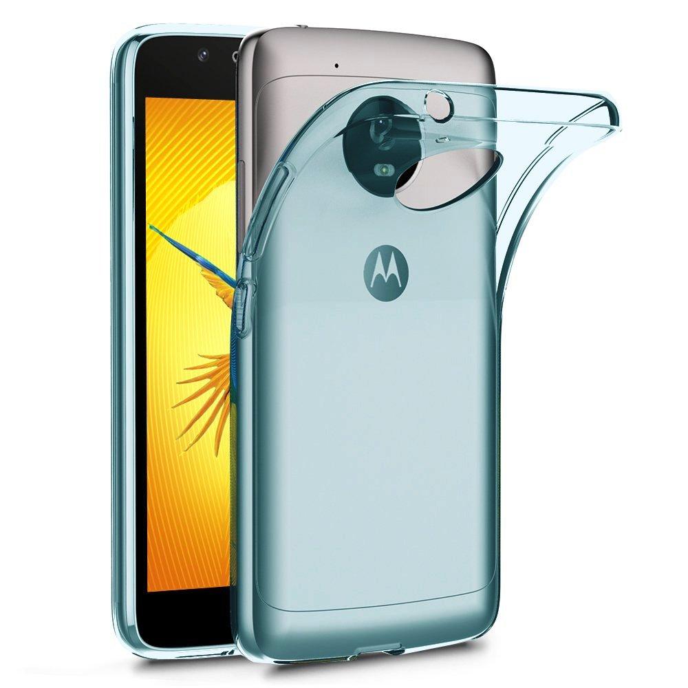 Terrapin Ημιδιάφανη Θήκη Σιλικόνης Motorola Moto G5 - Blue (118-003-031)