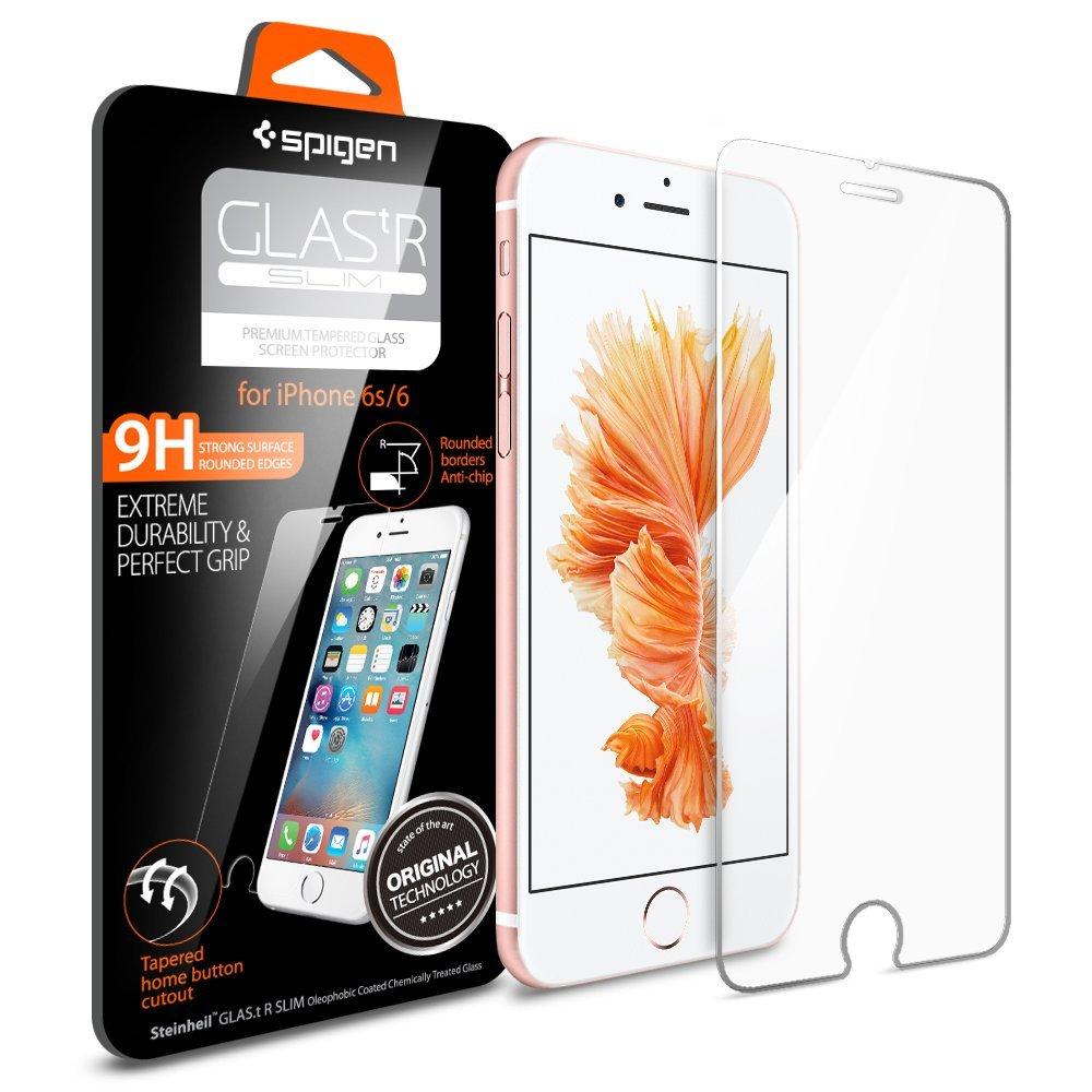 Spigen Tempered Glass iPhone 6/6S GLAS.tR SLIM (SGP11588)