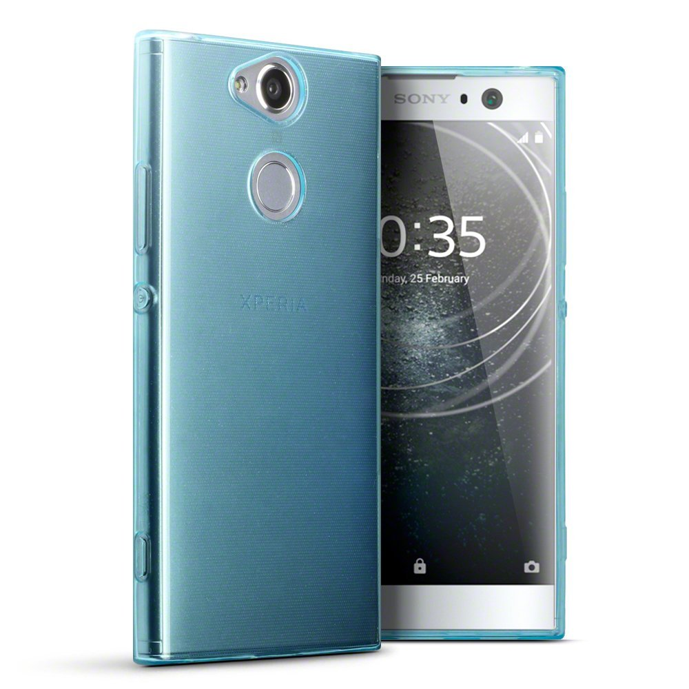 Terrapin Ημιδιάφανη Θήκη Σιλικόνης Sony Xperia XA2 - Blue (118-005-435)
