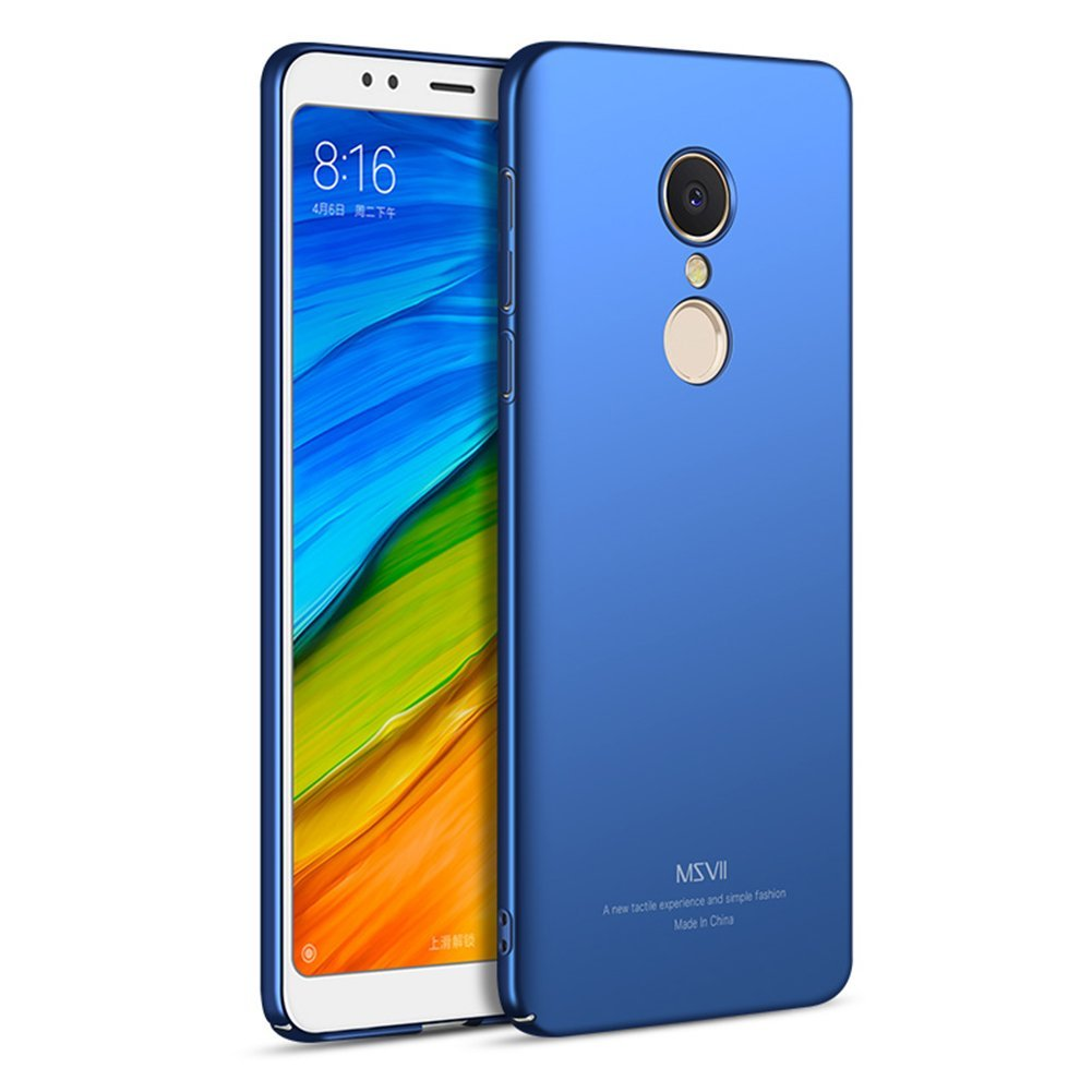 MSVII Super Slim Σκληρή Θήκη PC Xiaomi Redmi 5 - Blue (U2-04a)