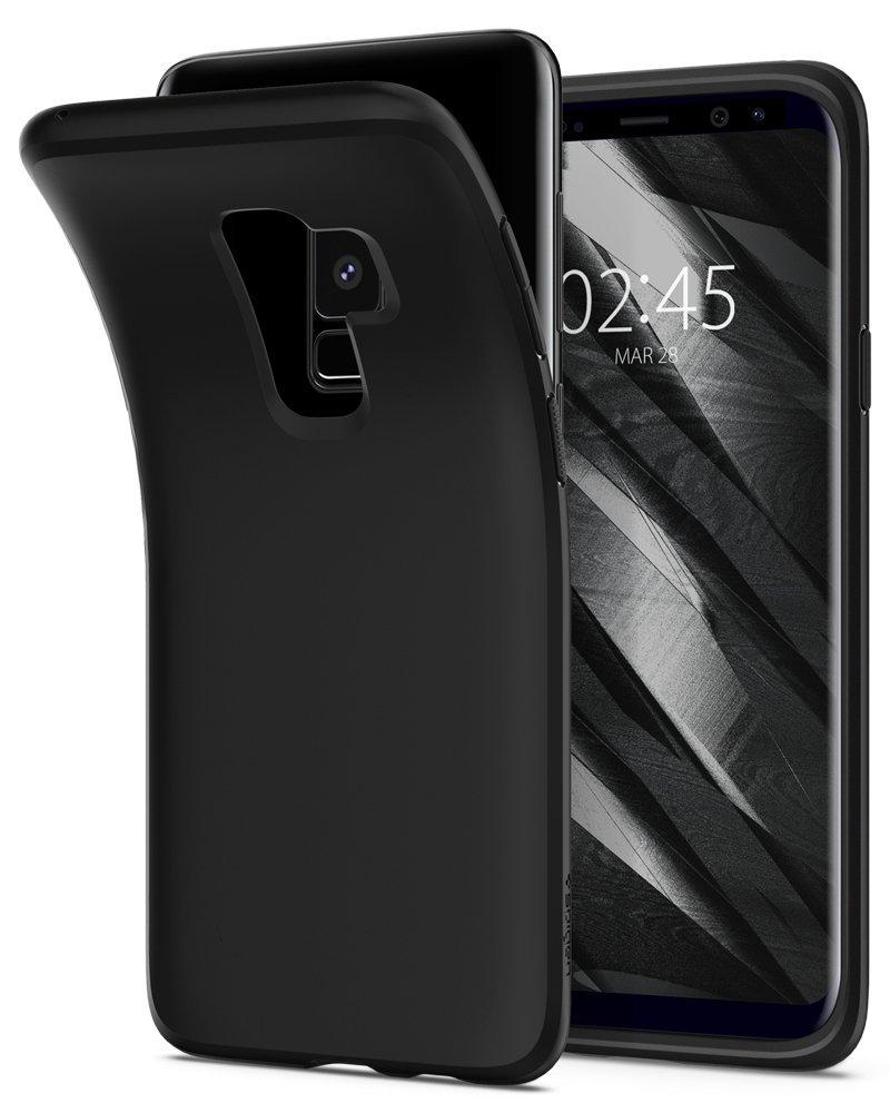 Spigen Θήκη Liquid Crystal Samsung Galaxy S9 Plus - Matte Black (593CS22912)
