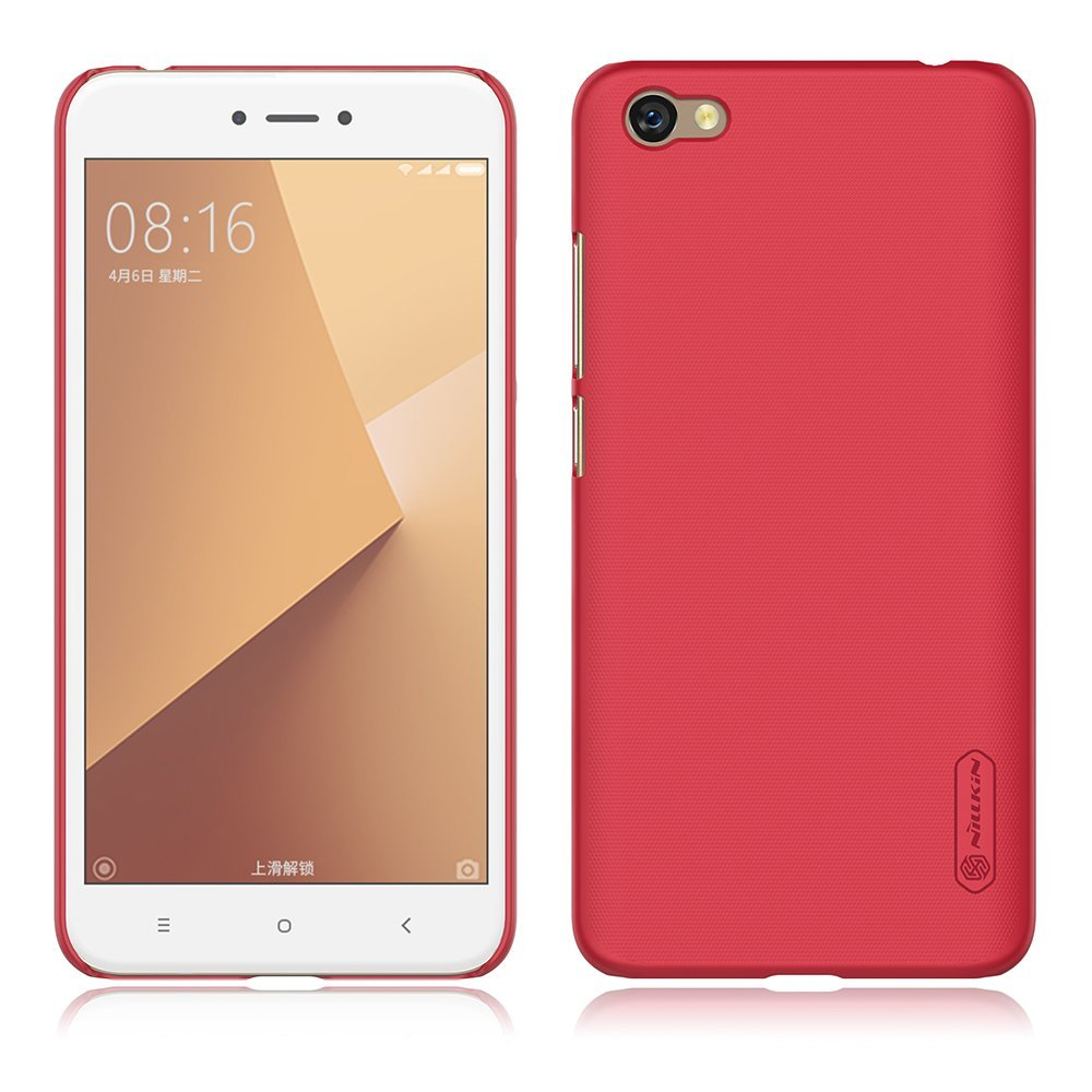 Nillkin Θήκη Super Frosted Shield Xiaomi Redmi Note 5A / Y1 & Screen Protector - Red (11941)