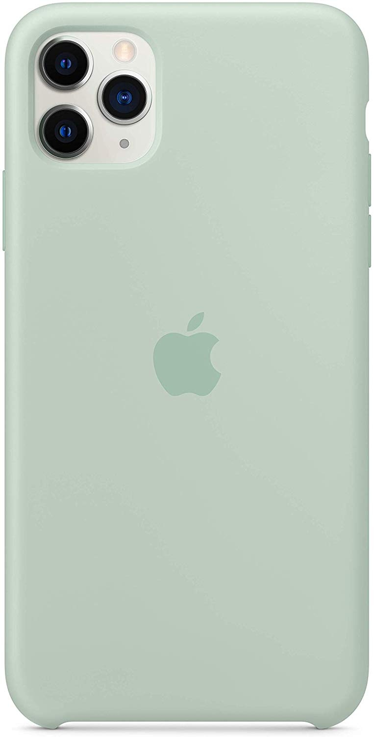 Official Apple Silicone Cover - Θήκη Σιλικόνης iPhone 11 Pro Max - Beryl (MXM92ZM/A)