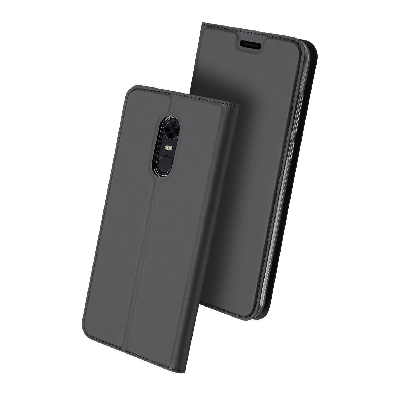 Duxducis Θήκη - Πορτοφόλι Xiaomi Redmi 5 Plus - Gray (13017)