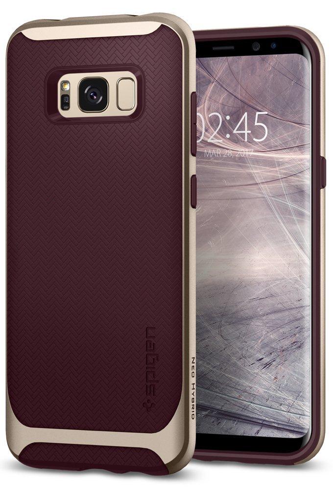 Spigen Θήκη Neo Hybrid Samsung Galaxy S8 - Burgundy (565CS21597)