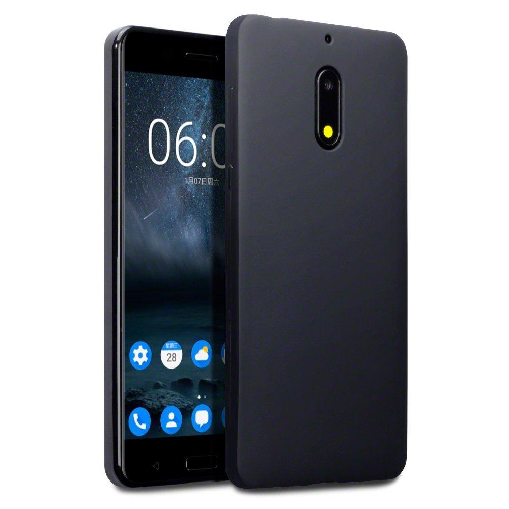 Terrapin Θήκη Σιλικόνης Nokia 6 - Black Matte (118-001-231)