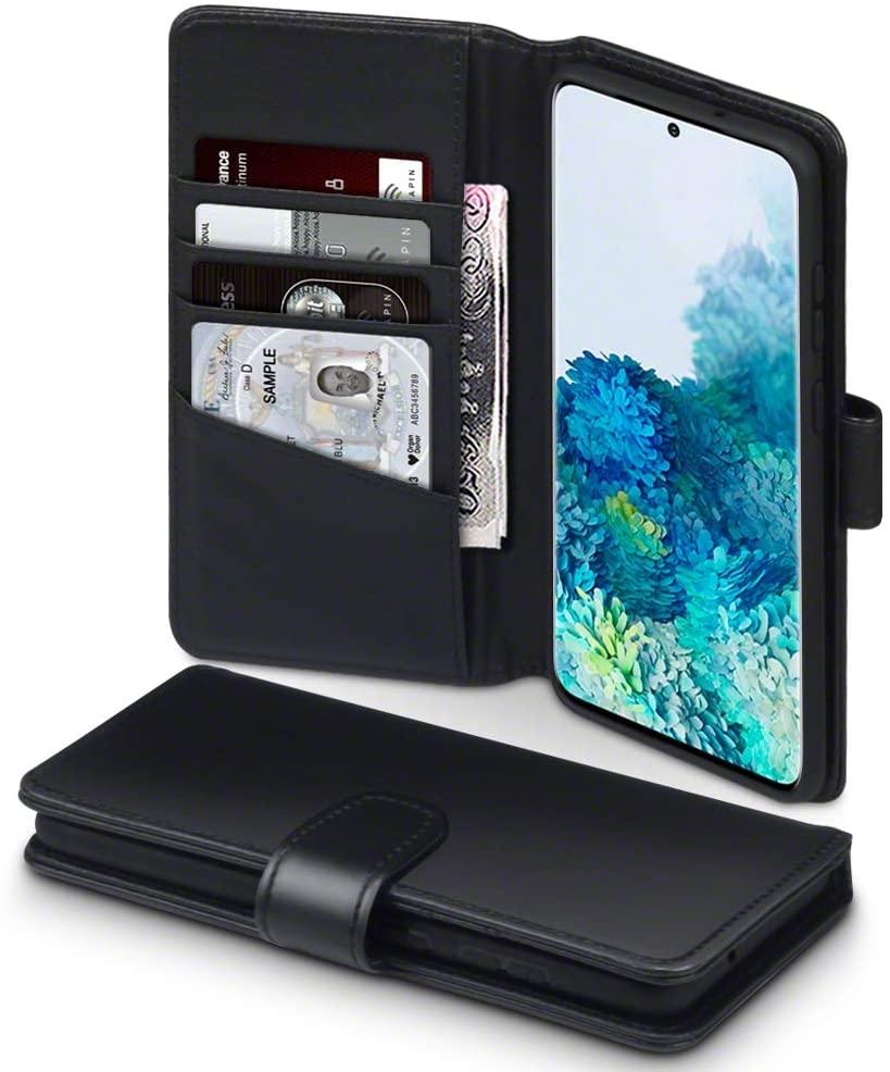 Terrapin Δερμάτινη Θήκη - Πορτοφόλι Samsung Galaxy S20 Plus - Black (117-002a-235)