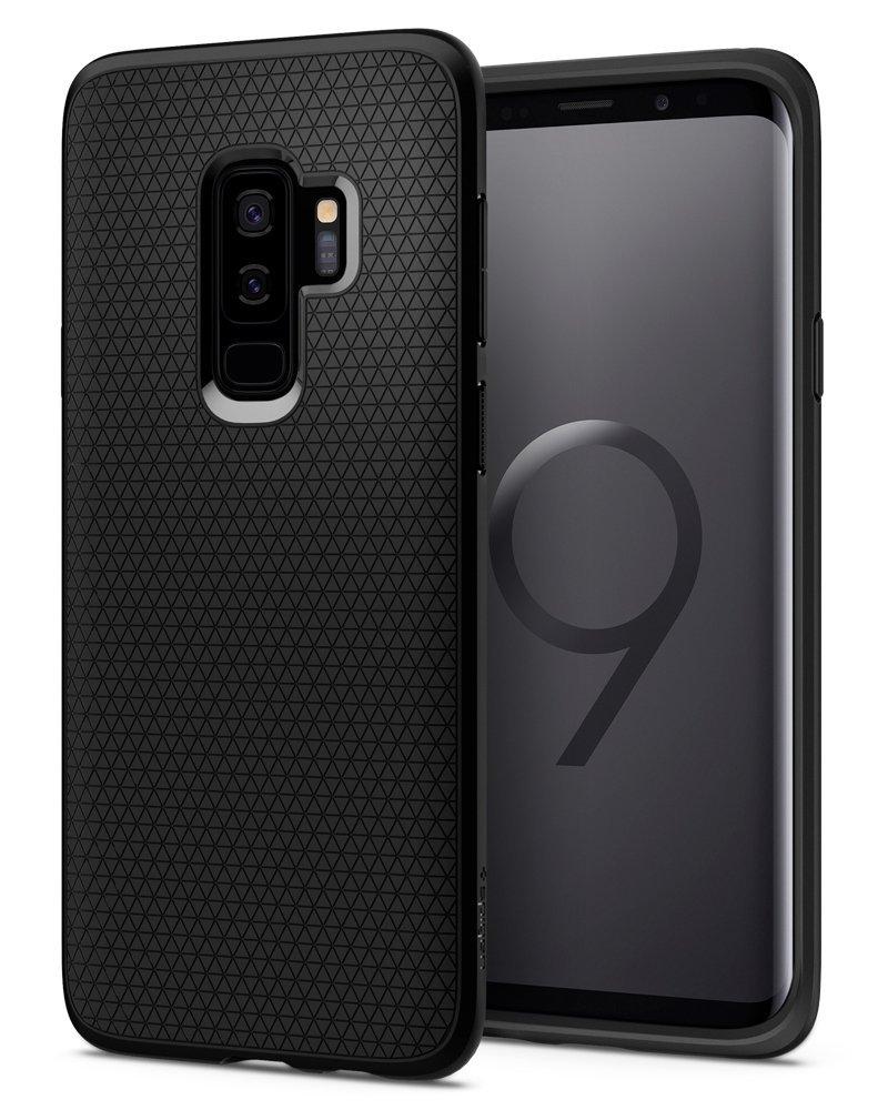 Spigen Θήκη Liquid Air Samsung Galaxy S9 Plus - Black (593CS22920)