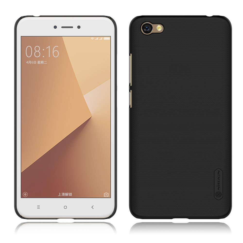 Nillkin Θήκη Super Frosted Shield Xiaomi Redmi Note 5A / Y1 & Screen Protector - Black (11939)