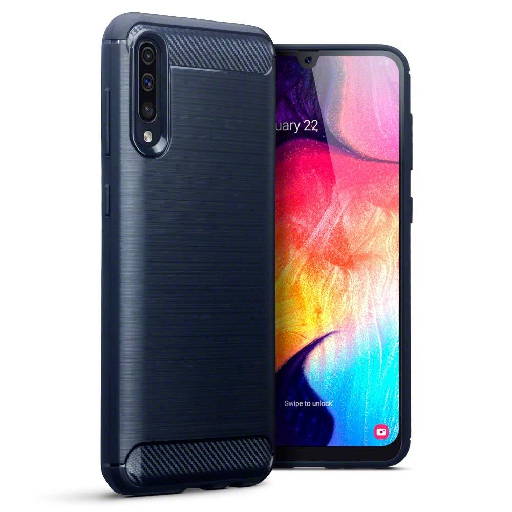 Terrapin Θήκη Σιλικόνης Samsung Galaxy A50 - Dark Blue (118-002-760)