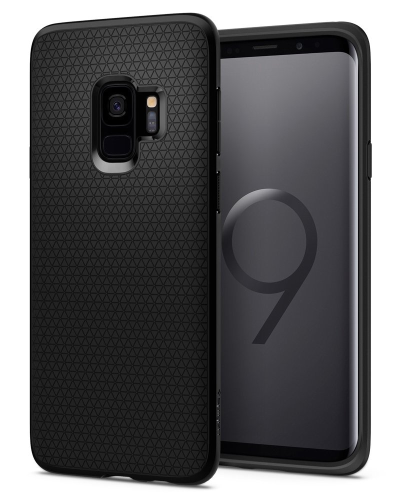 Spigen Θήκη Liquid Air Samsung Galaxy S9 - Black (592CS22833)