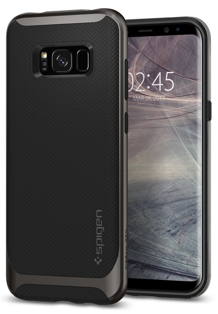 Spigen Θήκη Neo Hybrid Samsung Galaxy S8 Plus - Gunmetal (571CS21646)