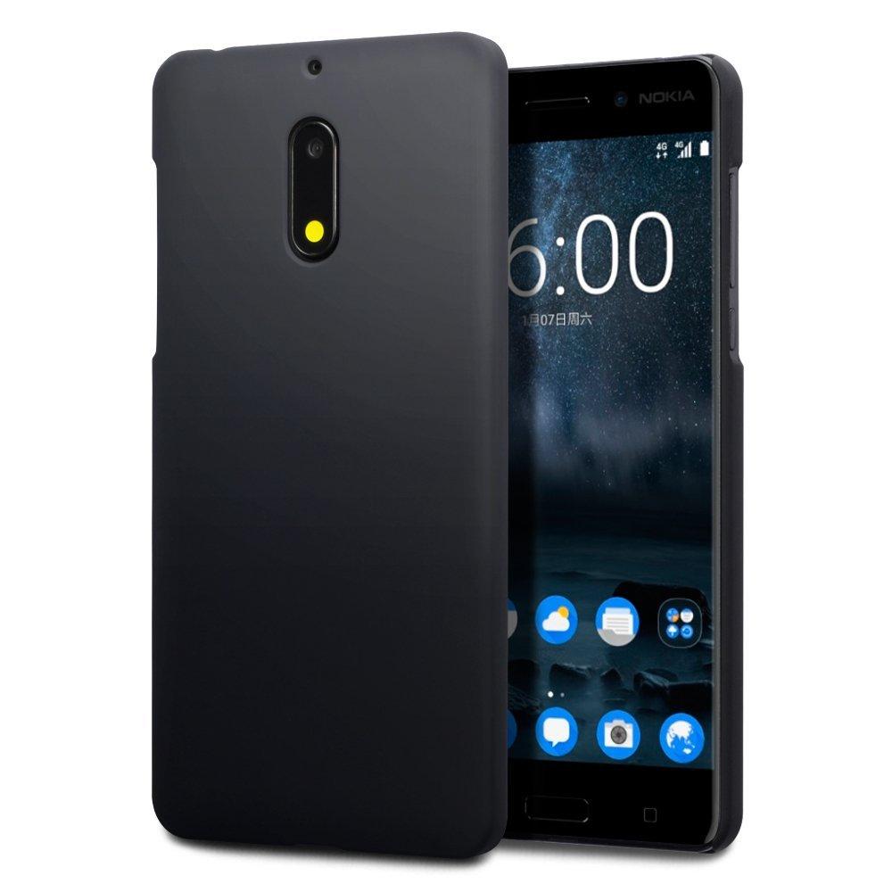 Terrapin Σκληρή Θήκη Καουτσούκ Nokia 6 - Black (151-001-065)