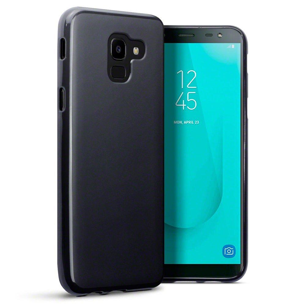 Terrapin Θήκη Σιλικόνης Samsung Galaxy J6 2018 - Black (118-002-705)