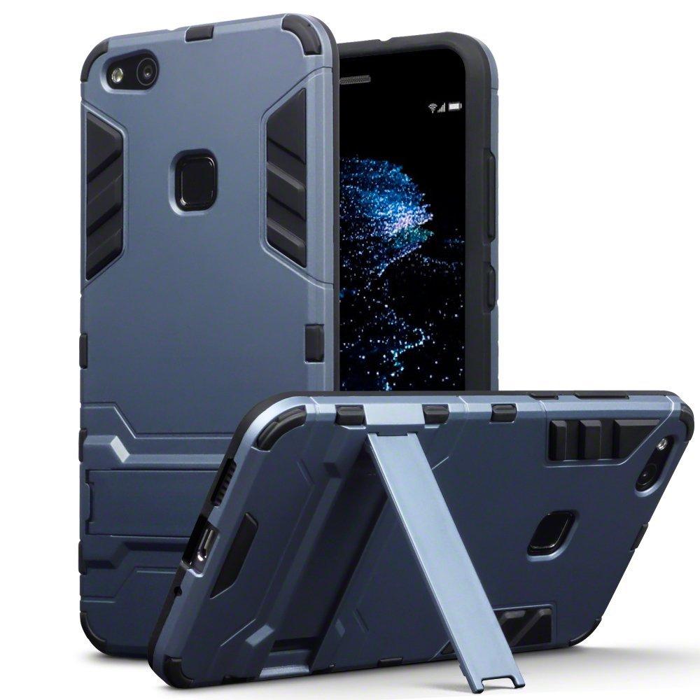 Terrapin Ανθεκτική Θήκη με Stand Huawei P10 Lite - Dark Blue (131-083-030)