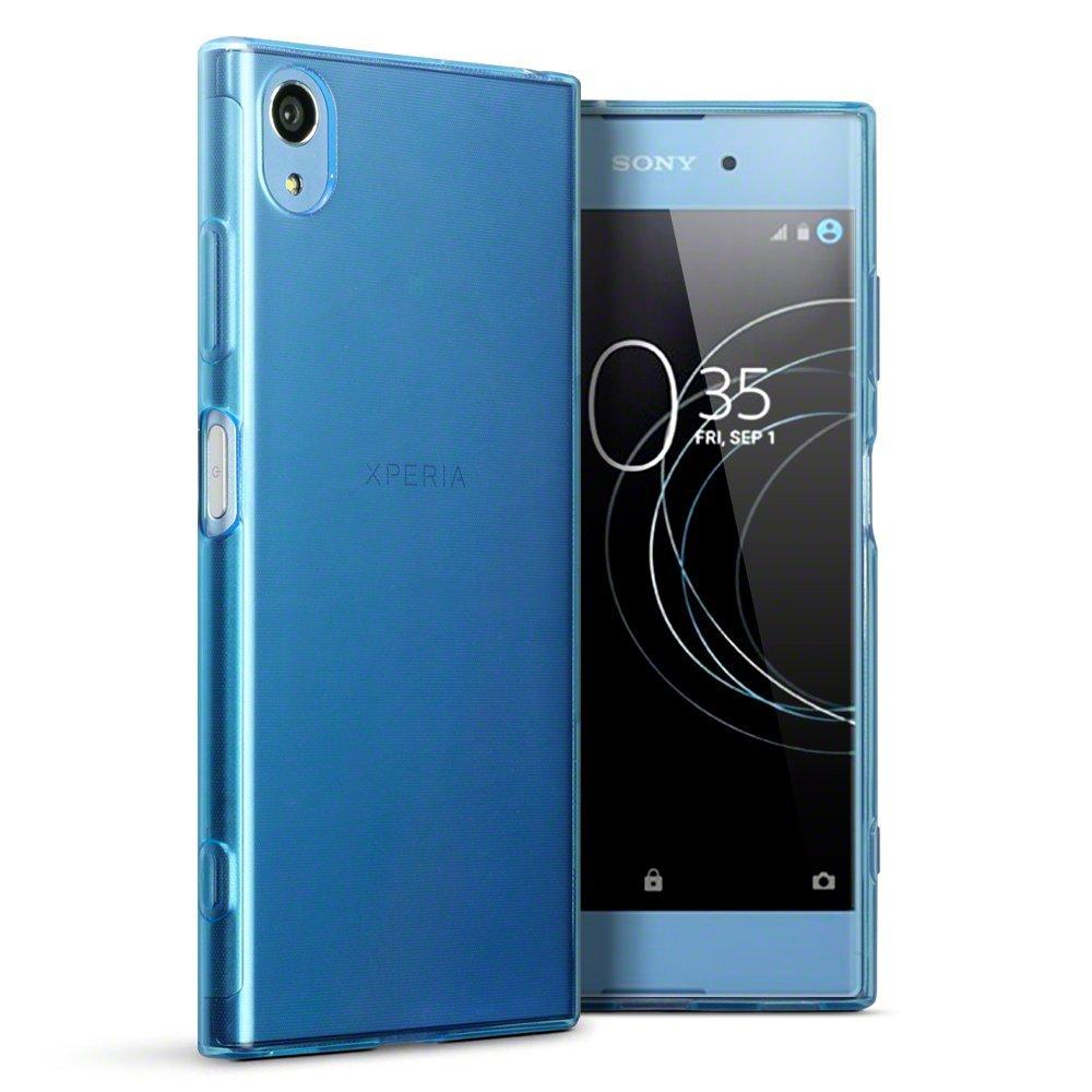 Terrapin Ημιδιάφανη Θήκη Σιλικόνης Sony Xperia XA1 Plus - Light Blue (118-005-415)