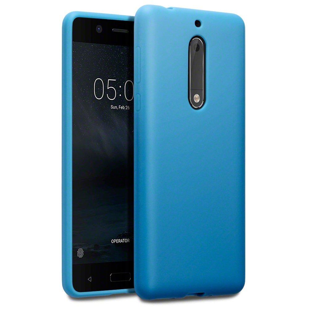 Terrapin Θήκη Σιλικόνης Nokia 5 - Light Blue Matte (118-001-237)