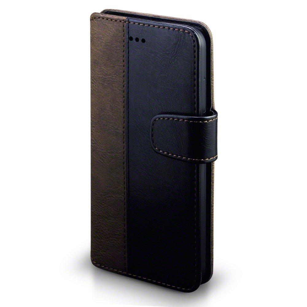 Terrapin Θήκη - Πορτοφόλι Huawei P10 Lite - Black / Brown (117-083-132)